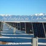 Solar Panels Winter