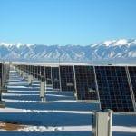 Solar Panels Winter